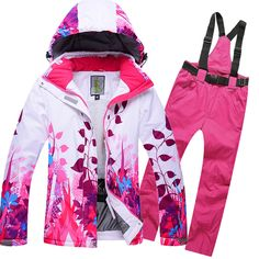 Top Sale Women Winter Suit Windproof Waterproof Womens Ski Suit Thicken Warmth Snowboard Jacket And Pants Female Mountain Skiing #clothing,#shoes,#jewelry,#women,#men,#hats,#watches,#belts,#fashion,#style