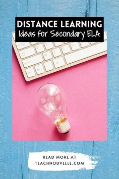 Need distance learning ideas for Secondary ELA? Remote learning can be tough and really take a toll on classroom community, but it doesn't have to! Here are tips and resources to keep your students engaged! Ela Classroom, Classroom Community, Google Classroom, Teaching Poetry, Challenge Me, Teaching Resources, Distance, Remote, Students