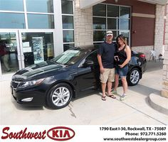 Congratulations to James Moore on the 2013 #KIA #Optima