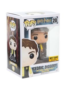Funko Harry Potter Pop! Cedric Diggory Vinyl Figure Hot Topic Exclusive…