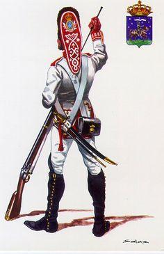 "Spanish Grenadier of the 10th Line Infantry Regiment ""Guadalajara"" (1808)"