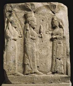 Votive Bah Relief Demeter with her daughter Kore (aka Persephone) and Hekate Found at the Temple of Selinunte Sicily, Italy Ancient Art, Ancient History, Maiden Mother Crone, Greek Pantheon, Triple Goddess, Ancient Mysteries, Greek Art, Greek Gods, Divine Feminine