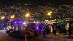 Terremoto frente a las costas chilenas de Valparaiso