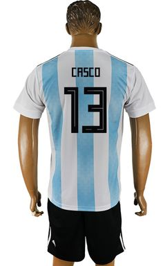 ed1316acb Argentina World Cup 2018 Shirt #13 Argentina World Cup 2018, Cheap Football  Shirts,