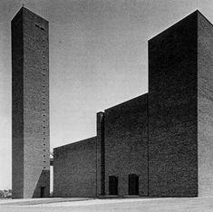 Chiesa di San Giovanni Bosco, Bologna, Giuseppe Vaccaro 1958-67