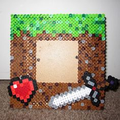 Dramatis Personae: Minecraft - Perler Bead Frame