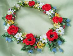 Beautiful jewelry with flowers | Beads Magic#more-3586