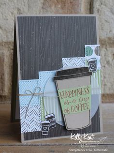 Stamp Review Crew - Coffee Cafe   kelly kent