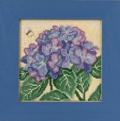 Mill Hill Buttons & Beads Spring Series Hydrangea by DebiCreations