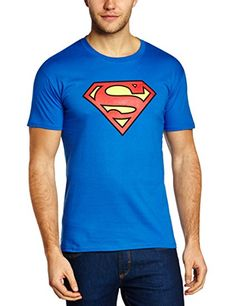 DC Superman - Logo T-shirt Col ras du cou Manches courtes Homme: Amazon.fr: Sports et Loisirs | @giftryapp