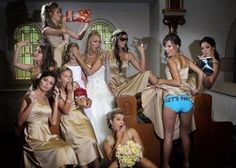 This is hilarious! Can me and bridesmaids do this??