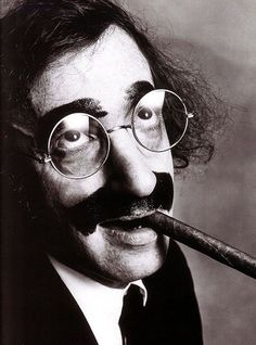 Irving Penn     Woody Allen as Groucho marx, New York City     1972