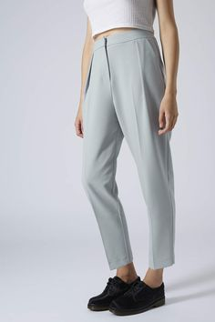Photo 2 of Cropped Peg Leg Trousers