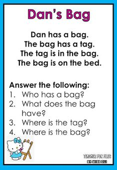 English Reading Passages With Comprehension Check Up 3