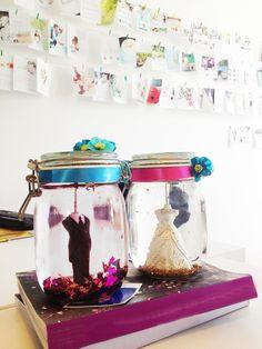 DIY: maak een schuddebol van je taarttopper | ThePerfectWedding.nl
