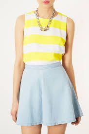 Image result for yellow shell top