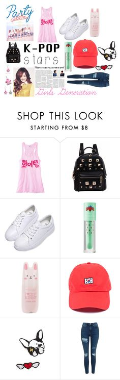 """K-Pop Stars: Girls Generation"" by esmeebetten on Polyvore featuring mode, Etude House, Tony Moly, Topshop en kpop"