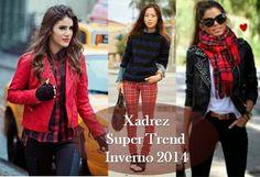 Meu Visual Semi Joias Consignadas: Super Trend: Xadrez Tartan no Inverno 2014