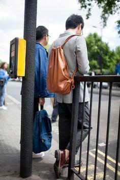 London Men's Fashion Week streetstyle
