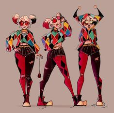 y'know like, nya! — an outfit design I made for Harley a few months. Harley Quinn Tattoo, Harley Quinn Drawing, Harley Quinn Comic, Harley Quinn Cosplay, Dc Comics, Margot Robbie Harley Quinn, Gotham Girls, Gotham Batman, Batman Art