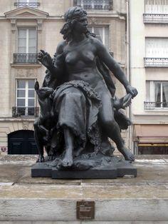 """""""L'Océanie"""" de Mathurin Moreau_Musée d'Orsay_Paris (France)_2014-05-08 © Hélène Ricaud-Droisy (HRD)"""
