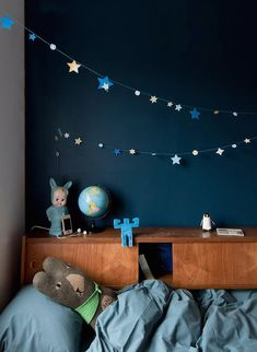 Inspiration: Kids' room with dark walls – Blog post by ARTY HOME
