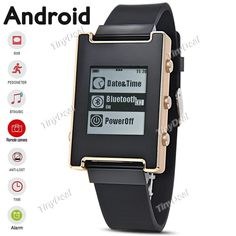 Fashion Smart Bluetooth Silicone Band Watch Call SMS Reminder Men Women Wearable Device for Android Phone WWT-366079