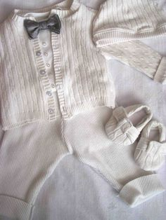 64e8cb394 blessing outfit; sweater and bowtie Christening Outfits For Boys, Baby Boy  Baptism Outfit,