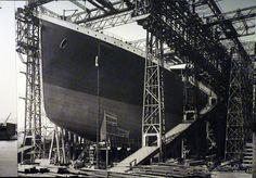 belfast titanic launch photo. m