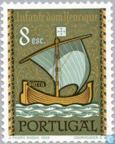 Stamps - Portugal [PRT] - Navigator Henry 500j 1960