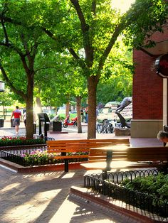 Pearl Street Mall downtown Boulder Colorado