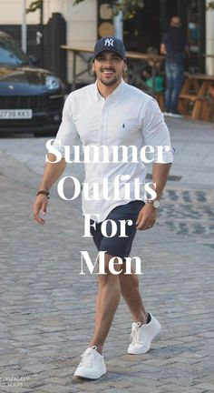 Here are some great summer outfits for men to try out this season. Mens Spring Fashion Outfits, Summer Outfits Men, Summer Suits, Latest Mens Fashion, Miami Outfits, Herren Outfit, Miami Fashion, Pinterest Fashion, Well Dressed Men