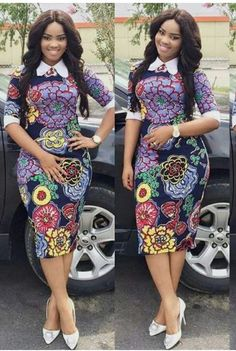 Checkout These Classy Ankara Gowns That Will Give You That Elegant Look - Fashion&Beauty - operanewsapp African Fashion Ankara, Latest African Fashion Dresses, African Print Fashion, Latest Fashion, Short African Dresses, African Print Dresses, Ankara Gowns, Shweshwe Dresses, Belle
