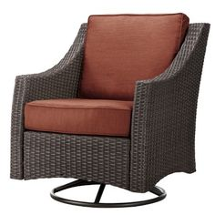 Threshold™ Belvedere Wicker Patio Motion Club Chair