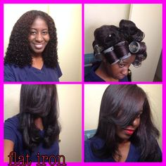 hair styles with flat iron