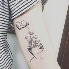 30 Stunning Tattoos for Book Lovers - stacked shelves - 30 Stunning Tattoos for Book Lovers – stacked shelves - Finger Tattoos, Body Art Tattoos, New Tattoos, Sleeve Tattoos, Rose Tattoos, Tatoos, Dream Tattoos, Mini Tattoos, Future Tattoos