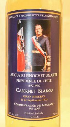 Vino del General Don Augusto Pinochet Ugarte Capitan General