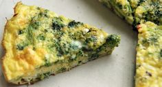 Broccoli and Feta Frittata Easy recipe from Buttercup and Bourbon for a delicious frittata.