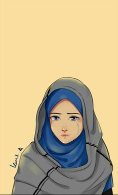 Pin by tina solo on anime art hijab's girl in 2019 мусульманский, аним Anime Muslim, Muslim Hijab, Tmblr Girl, Hijab Drawing, Islamic Cartoon, Hijab Cartoon, Islamic Girl, Girl Hijab, Muslim Girls