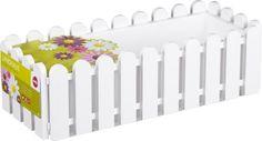 Emsa Blumenkasten LANDHAUS, Weiß, 50 x 20 x 16 cm