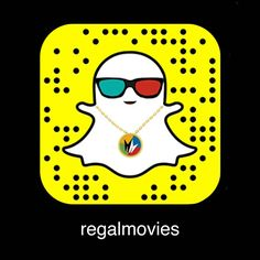 BIG NEWS: We could not be more excited to announce that we're on #SNAPCHAT! Follow us NOW for a chance to win a $50 Regal Gift Card!