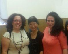 A meeting with Ikuko Acosta in Perugia