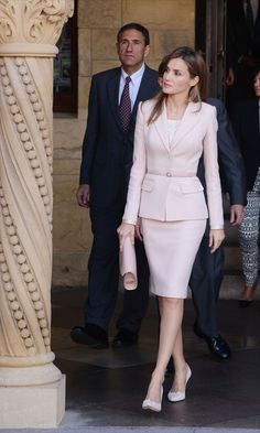 Princess Letizia of Spain visits Stanford University on November 14, 2013 in Palo Alto, California.