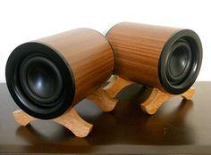 Odyssey Audio Speakers  Walnut by HinmanAudio on Etsy, $195.00