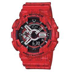 G-Shock GA-100cm-4ACR Men's Black Sport Watch