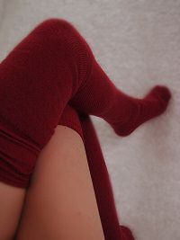 Gigantor tube socks!! These are so sexy comy it's unbelievable.