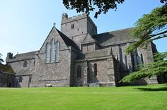 Brecon Cathedral. Brecon, Powys, Wales, UK