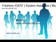Freshers IGATE | System Associate | Jan 2015 | Mumbai