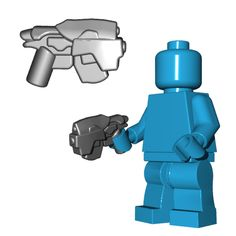 The standard issue sidearm for all resistance trooper minifigs, the semi-automatic head-hunter pistol is mainly used as a last resort for troopers who run out of impaler ammo. Occasionally, the scope