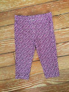 Healthtex 24 months pink cheetah print pants